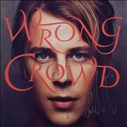 Tom Odell Wrong Crowd - Autographed - Sealed UK vinyl LP