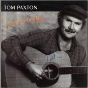 Click here for more info about 'Tom Paxton - And Loving You - Autographed'