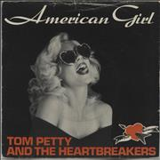 Click here for more info about 'Tom Petty & The Heartbreakers - American Girl + Picture sleeve - EX'