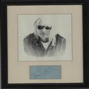 Click here for more info about 'Framed Autograph Picture'