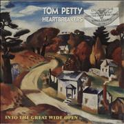 Click here for more info about 'Tom Petty - Into The Great Wide Open - Stickered'