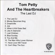Click here for more info about 'Tom Petty & The Heartbreakers - The Last DJ'