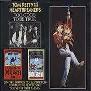 Click here for more info about 'Tom Petty - Too Good To Be True + Tour Pass Stickers'