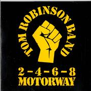 Click here for more info about 'Tom Robinson - 2, 4, 6, 8, Motorway - P/S - Sample'