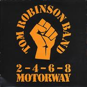 Click here for more info about 'Tom Robinson - 2, 4, 6, 8, Motorway - P/S'