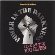 Click here for more info about 'Tom Robinson - Power In The Darkness: Live At The 100 Club - Autographed'
