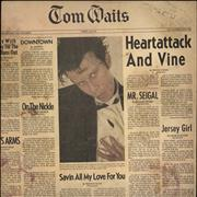 Click here for more info about 'Tom Waits - Heartattack And Vine - EX'