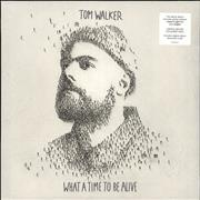 Click here for more info about 'Tom Walker - What A Time To Be Alive - Blue Vinyl - Sealed'