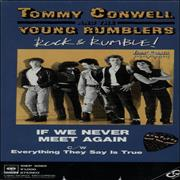 """Tommy Conwell If We Never Meet Again Japan 3"""" CD single"""