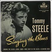 Click here for more info about 'Tommy Steele - Singing The Blues - VG'