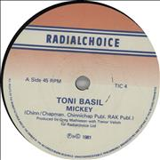 Click here for more info about 'Toni Basil - Mickey'