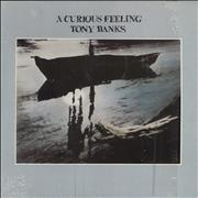 Click here for more info about 'Tony Banks - A Curious Feeling - Opened shrink'
