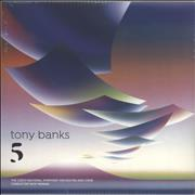 Click here for more info about 'Tony Banks - Five - Etched Vinyl + Sealed'