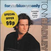 Click here for more info about 'Tony Hadley - For Your Blue Eyes Only - Poster Sleeve'