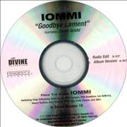 Click here for more info about 'Tony Iommi - Goodbye Lament'