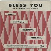 Click here for more info about 'Tony Orlando & Dawn - Bless You'