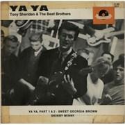 """Tony Sheridan Ya Ya EP Germany 7"""" vinyl"""
