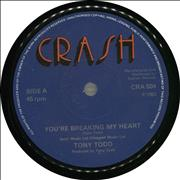 Click here for more info about 'Tony Todd - You're Breaking My Heart'