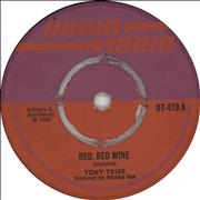 Click here for more info about 'Tony Tribe - Red Red Wine'