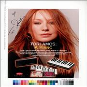 Click here for more info about 'Tori Amos - A Piano - Autographed'