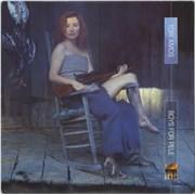 Tori Amos Boys For Pele - Clear Vinyl - Promo Stickered UK 2-LP vinyl set Promo