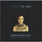 Tori Amos Crucify UK cd album box set