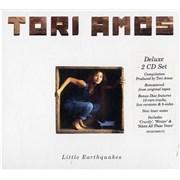 Tori Amos Little Earthquakes UK 2-CD album set