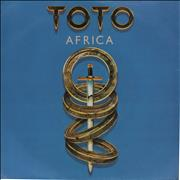 Click here for more info about 'Toto - Africa - paper label'