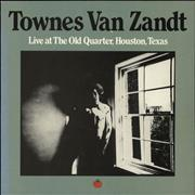 Click here for more info about 'Townes Van Zandt - Live At The Old Quarter, Houston, Texas'