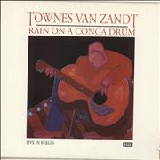 Click here for more info about 'Townes Van Zandt - Rain On A Conga Drum - Live In Berlin - EX'