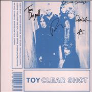 Click here for more info about 'Toy - Clear Shot - 180gm Vinyl + Autographed Sleeve'