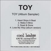 Click here for more info about 'Toy (Album Sampler)'