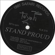 Click here for more info about 'Toyah - Stand Proud - Flexi'