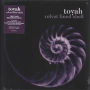 Click here for more info about 'Toyah - Velvet Lined Shell - Purple Vinyl - Sealed'