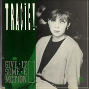 Click here for more info about 'Tracie - Give It Some Emotion - P/S'