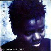 """Tracy Chapman Baby Can I Hold You UK 7"""" vinyl"""