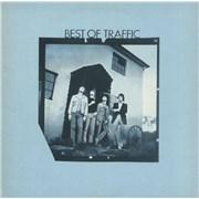 Traffic Best Of Traffic - Blue Label UK vinyl LP