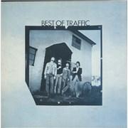 Traffic Best Of Traffic - Pink Rim UK vinyl LP