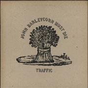 Click here for more info about 'Traffic - John Barleycorn Must Die - 1st - Smooth - VG+/EX-'