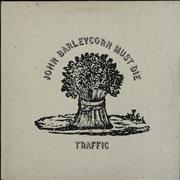 Traffic John Barleycorn Must Die - blue label UK vinyl LP