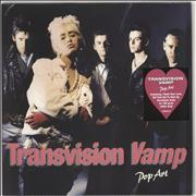 Click here for more info about 'Transvision Vamp - Pop Art - 180gram White Vinyl - Sealed'