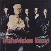 Click here for more info about 'Transvision Vamp - Pop Art - Fully Autographed'