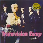Click here for more info about 'Transvision Vamp - Pop Art - price stickered'