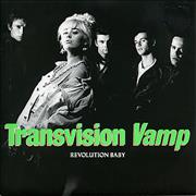 Click here for more info about 'Transvision Vamp - Revolution Baby'