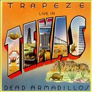 Trapeze Live In Texas - Dead Armadillos UK vinyl LP
