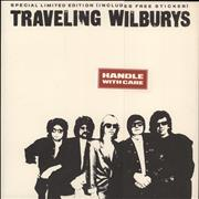 Click here for more info about 'Traveling Wilburys - Handle With Care + Opened Sticker'