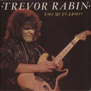 Click here for more info about 'Trevor Rabin - Take Me To A Party - Clear Vinyl'