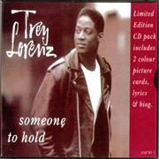 Trey Lorenz Someone To Hold - Inc Cards UK CD single