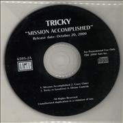 Click here for more info about 'Tricky - Mission Accomplished'