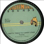 Click here for more info about 'Trinity - Natty Tired To Carry Load'